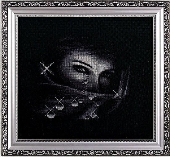 Техника: вышивка крестом