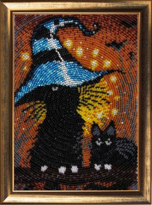 Для вышивания бисером butterfly 601 котята