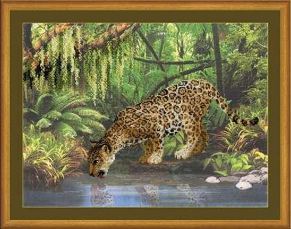 Риолис РТ-0023 Леопард у воды