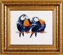 Набор для вышивания крестом Алисена 1018 Про птичек 2