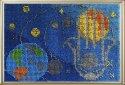 Набор для вышивания бисером Вышивальная мозаика 155об Панно-оберег Хамса. Рука Фатимы. Космос